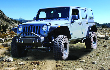 07-15 Jeep JK STUBBY FRONT BASE BUMPER picture