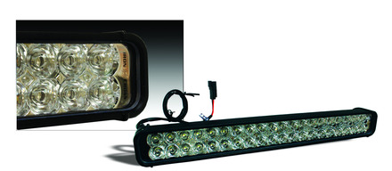 """22"""" XMITTER LED LIGHT BAR 7,200 RAW LUMENS picture"""