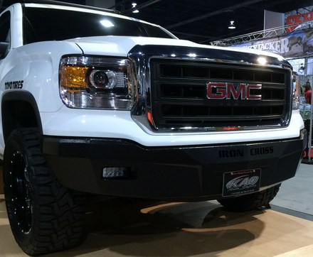 14-15 SIERRA 1500 RS SERIES FRONT BUMPER picture