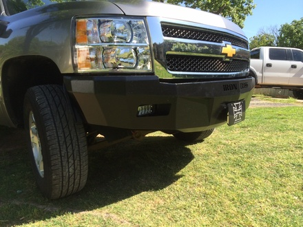 07-13 SIERRA 1500 RS SERIES FRONT BUMPER picture