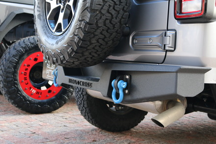 18-19 JEEP WRANGLER JL STUBBY REAR BUMPER picture