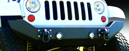 07-15 JEEP FULL SIZE FRONT BUMPER-NO BAR **LIGHT KIT SOLD SEPERATELY** picture