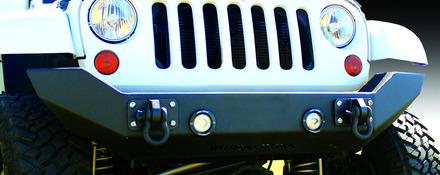 07-15 Jeep JK FULL SIZE FRONT BASE BUMPER picture
