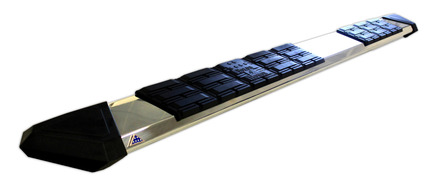 """8293-- Patriot Running Board Stainless Steel 93"""" Long picture"""