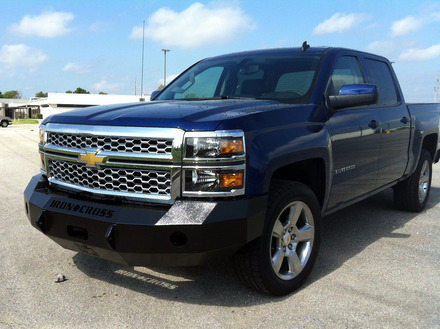 2014 GMC SIERRA FRONT BUMPER WITH PUSH BAR picture