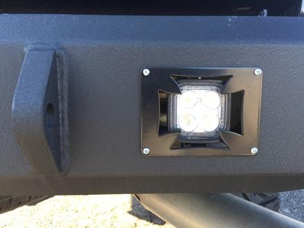 Rear Bumper Light Bracket(Pair)- Black picture
