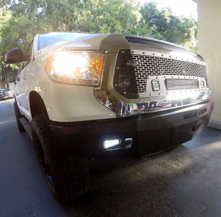 30-715-14 RS Series Bumper for 2014-Current Toyota Tundra**LIGHTS SOLD SEPERATELY** picture
