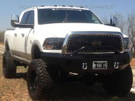 10-18 RAM 2500/3500 FRONT BASE BUMPER WITH BULL BAR picture