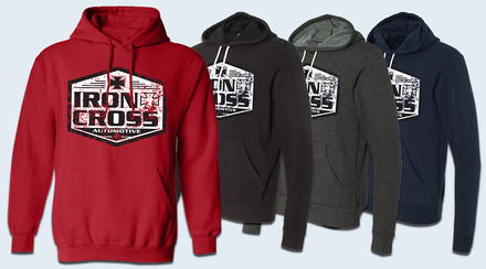 Iron Cross Canvas Hoodies-New Design picture