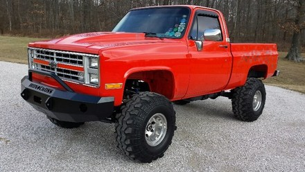 1981-1987 CHEVY/GMC 1500/2500/3500 PUSH BAR BUMPER picture