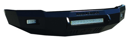 10-18 RAM 2500/3500 LOW PROFILE FRONT BUMPER GLOSS BLACK picture