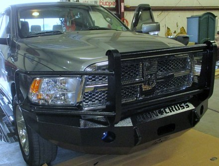 10-18 RAM 2500/3500 FRONT BASE BUMPER WITH GRILLE GUARD picture