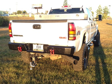 2003-2006 CHEVY REAR BUMPER picture