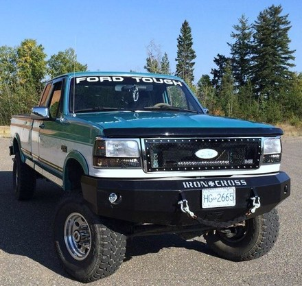 92-96 F150/250/350 FRONT BASE WINCH BUMPER picture