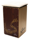 Cajon Padded Fleece Seat w/Non-Skid Back, Neoprene, Padding inside