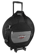 DELUXE HEAVY DUTY CYMBAL CASE WITH WHEELS