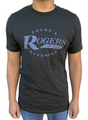 Rogers Black Dyna-Sonic T-Shirt - Large