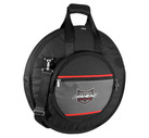 DELUXE HEAVY DUTY CYMBAL CASE w/padded Tuck-Away straps