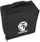 Metrophones Padded  Carrying Case
