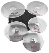 "Kasza Cymbals ""Quiet on the Set"" Series Practice Cymbal Pack with Case"