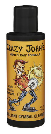 Crazy John's Brilliant Cymbal Cleaner 4 OZ picture
