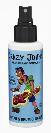 Crazy John's Guitar Cleaner & Polish 4 OZ picture