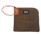 Tackle Instrument Supply Brown Zippered Accessory Bag