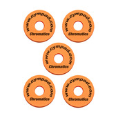 Cympad Chromatics Orange 40/15mm Crash Set (5 pcs)
