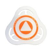 Slug Triad Pad Batter Badge Orange