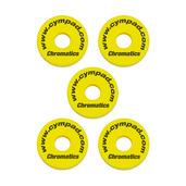 Cympad Chromatics Yellow 40/15mm Crash Set (5 pcs)