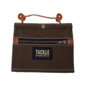 Tackle Instrument Supply Brown Waxed Canvas Gig Pouch