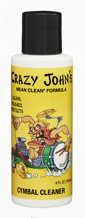 Crazy John's Cymbal Cleaner & Polish 4 OZ picture