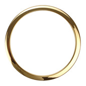 "Bass Drum O's 6"" Brass Drum O"