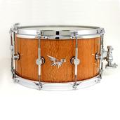 "Hendrix 14"" x 7"" Leopardwood Gloss Finish Snare Drum"