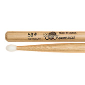 Los Cabos 5B Nylon Tip Red Hickory Drumsticks