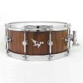 """Hendrix 14"""" x 6"""" Satin Walnut Snare Drum"""