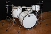 Rogers Covington Series 12/14/20 Shell Pack w/ Steel Spurs in White Marine Pearl
