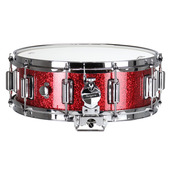 "Rogers Dyna-Sonic 5"" x 14"" Classic Snare Drum with Beavertail Lugs - Red Sparkle Lacquer"