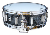"Rogers Dyna-Sonic 5"" x 14"" Classic Snare Drum with Beavertail Lugs - Black Diamond Pearl"