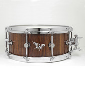 "Hendrix 14"" x 6"" High Gloss Walnut Snare Drum"