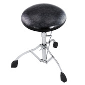 Rogers Dyno-Matic Drum Throne with Black Diamond Pearl Top