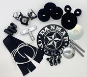 Danmar 32-Piece Drum Replacement Part Kit