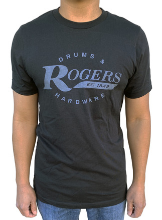 Rogers Black Dyna-Sonic T-Shirt - Large picture