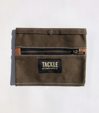 Tackle Instrument Supply Forest Green Waxed Canvas Gig Pouch picture
