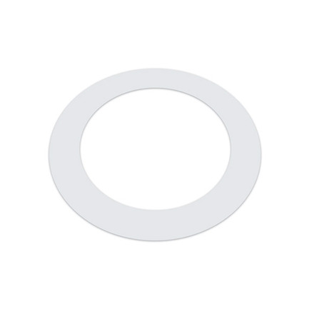 KickPort T-Ring White Bass Drum Hole Reinforcement picture