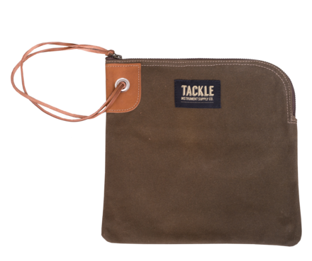 Tackle Instrument Supply Brown Zippered Accessory Bag picture