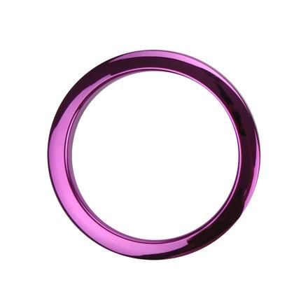 "Bass Drum O's 4"" Purple Chrome Drum O picture"