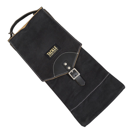 Tackle Instrument Supply Black Waxed Canvas Compact Stick Bag picture