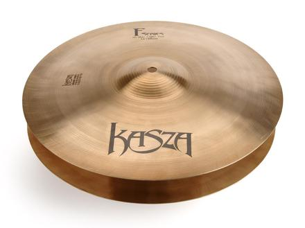 "Kasza Cymbals F-Series 13"" Light Top/Medium Bottom Hi-Hats picture"
