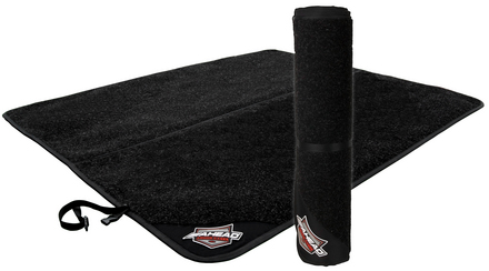 "DRUM MAT Double - 107"" x 62"" w/ Gel Back & Snap Lock Quick Release Handle picture"